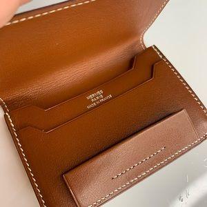 Authentic Hermès Business card Holder